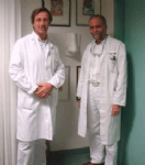 Dr. Pichelmaier und Prof. Gubisch